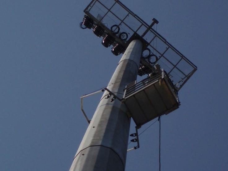Stadyum Direği Bakım Asansörü